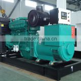 automatic voltage regulating 150kw water cooled diesel generator set with Cummins engine
