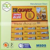 direct factory 50ml/250ml quartz stone epoxy adhesive artificial stone glue with high quality