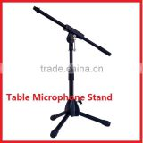 Hot Sale Tripod Folding Table Microphone Stand
