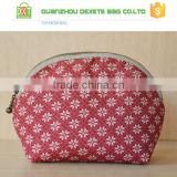 Cheap Cotton Linen travel cosmetic bag, women toiletry bag, professional cosmetic makeup bag