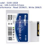 KingDian S100 16GB SSD Solid State Drive Disk SATA2 2.5 16GB jet drives for boats(S100-16GB)