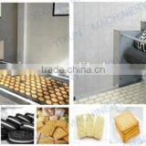 Cracker Semi automatic food confectionery professional good quality ce biscuit production line making machine