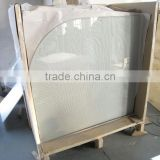 flat borosilicate glass sheet, heat resistant borosilicate glass, fire resistant glass wall