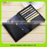16232 Genuine cow leather brand travel passport holder card case passport protective sleeve