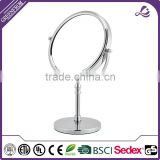Professional bathroom table swivel framed dresser mirror shaving magnifying chrome side mirror