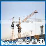 QTZ80 Hydraulic Tower Crane Manufacturing Factory