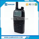 handheld military radio with dual display dual standby dual band two way radio SAMCOM AP-400UV