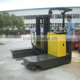 1.5ton electric side loading forklift narrow aisle forklift TD series with AC drive motor