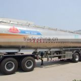 China factory supplier oil fuel tank semi trailer/tanker trailer dimensions manufacturer