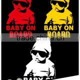 BABY ON BOARD Car sticker, factory outlet reflective warning car sign