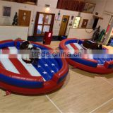 bucking bronco Inflatable Rodeo Bull for adults,Wipeout games Mechanical bull for adults