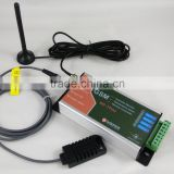 GSM temperature and humidity alarm and controller device Email Log report