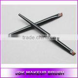High quality small plastic Acrylic handle Angled eyebrow brush Eye brow brush your brand name makeup brush