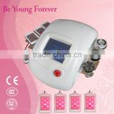 Freckles Removal Ultrasound Cavitation For Cellulite Liposuction Multipolar RF Vacuum Fat Loss Machine Lipo Slimming Cavitation Machine Telangiectasis Treatment
