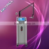 Birth Mark Removal Salon Use RF Tube 10600nm Skin Resurfacing/ Scar Removal Face Whitening RF Tube Co2 Fractional Laser Machine Co2 Laser Surgical