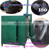 High yield gas flow type co conut shell 0.22kw bamboo charcoal making kiln for sale 008613703827012