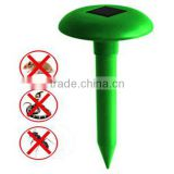 Solar ultrasonic waves rat rodent pest snake repeller