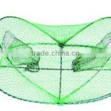 fishing tackle fishing crab trap Folding Metal Fish Trap for Crabs