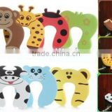 Baby Safety Helper Door Stop Finger Pinch Guard Lock Eve door stopper 7 colors