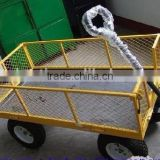 folding beach wagon garden tool cart