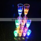 Champagne Glass Inductive Color Cup Goblet For Party / Wedding Decoration Favors And Gifts Decorations Cheap Decor