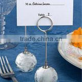 Wholesale Diamond Crystal Wedding Place Card Holder