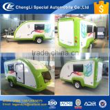 CLW manufacturer 2017 new towed type fashion small motorhome trailer RV trailer with customized space with cheap price for sale