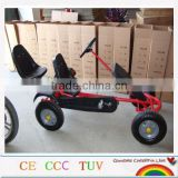 INQUIRY about two seat 2 person pedal cart kart with CE certificate
