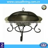 Outdoor backyard outside durable steel fire brazier firepits