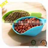 Dry beans colorful muti-use plastic scoops wholesale, customized plastic scoops maker