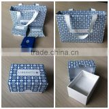 Popular a set of jewelry neckie gift boxes and bags pouch custom desgin printing and size