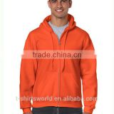 Blank Fleece Classic Fit Adult Full Zip Hooded Sweatshirt