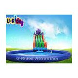 Octopus Commercial Fun Inflatable Water Parks Mobile Folded 26M X 26M