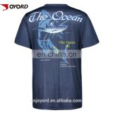 Custom sublimation short sleeve tournament fishing jerseys