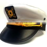 White children cotton yacht cap captain hats costume accessory sailor navy pilot NH2021