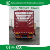 Direct Manufacturer Low Price 3 Axle Fence Trailer Stake Truck Semi Trailer