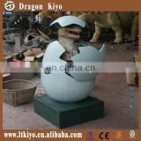 2015 hot sale vivid hacting dinosaur egg