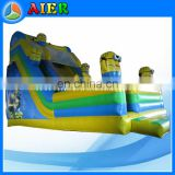 New design minion inflatable super slide