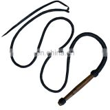 HMB-508A LEATHER RIDING BULLWHIPS FLOGGER HANDMADE CROPS