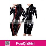 Feelingirls Latest Design Hot Latex Vinyl Catsuit