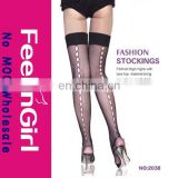 New Style Over Knee Sexy Black Stocking Mania