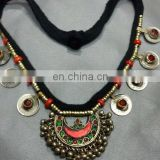 (KN-0101) Afghan Tribal Kuchi Necklace