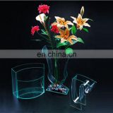 Elegant home small clear plastic vases for centerpieces