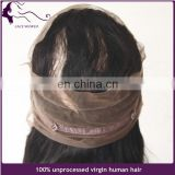 Wholesale 360 lace frontal wig 100% remy human hair