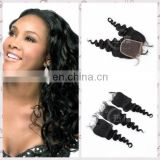 Hot sale Malaysian virgin hair extension body wave closure