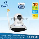 Smart home Alarm system 1.0MP H.264 HD720P Wireless IP camera surveillance WiFi Wireless IP camera surveillance