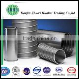 Stainless steel filter wedge screen tube