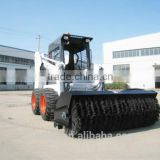 wheel loaders skidsteers China cheap mini skid loader for sale