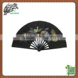 Chinese Dragon and Phoenix Martial Arts Kung Fu Tai chi Bamboo Hand Fan