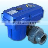 KLD160 2-way electric actuated ball valve for automatic control,water treatment,chemical process